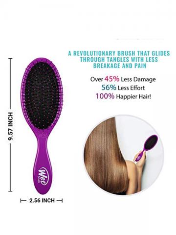 Wet Brush Pro Detangle Hair Brush - METALLIC PURPLE