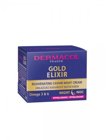 Gold Elixir Rejuvenating Caviar Night Cream 2018