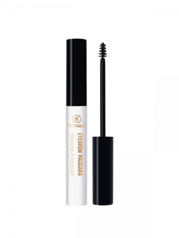 Transparent and waterproof eyebrow mascara