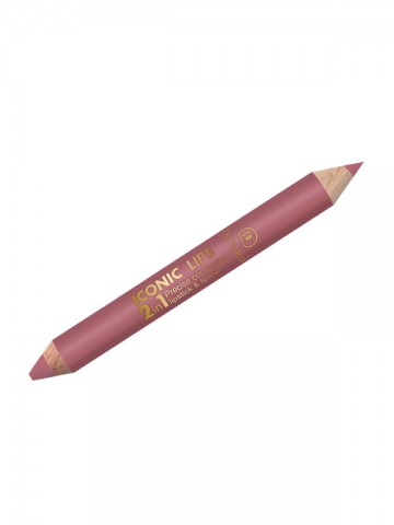 Iconic Lips 2-in-1 No. 1 -...