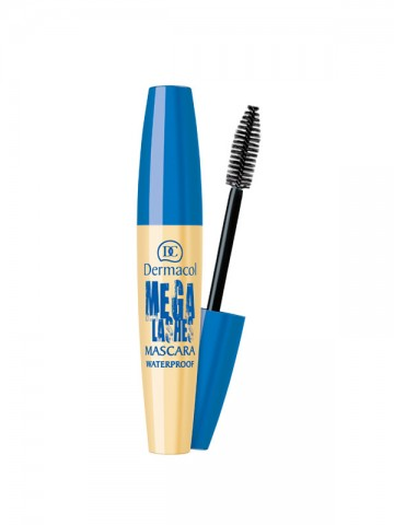 Mega Lashes Waterproof Mascara  - Black