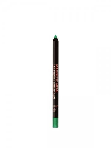 Magnetic Metal 16H Eyeliner Green