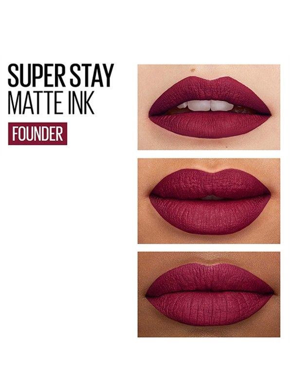 SUPERSTAY Matte Ink City Edition Liquid Lipstick - 115 The Founder