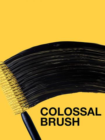 VOLUM' EXPRESS - The Colossal Waterproof Mascara, Volumizing, Glam Black