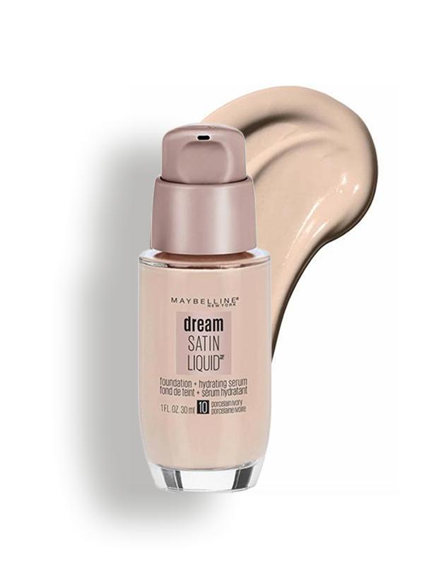 Dream Satin Liquid  Foundation - Porcelain Ivory