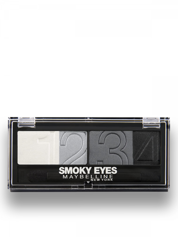 EYESTUDIO - Color Plush Silk Eye Shadow Quad Palette - 19 - Smokey