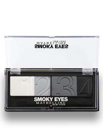 EYESTUDIO - Color Plush Silk Eye Shadow Quad Palette - 19 - Smokey