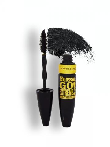 Colossal Go Extreme - Leather Black Mascara