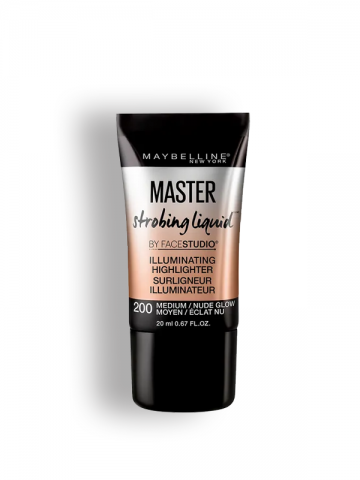 Maybelline Facestudio Master Strobing Liquid Illuminating Highlighter - 200 Medium
