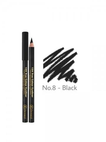 12H True Color Eyeliner -Black