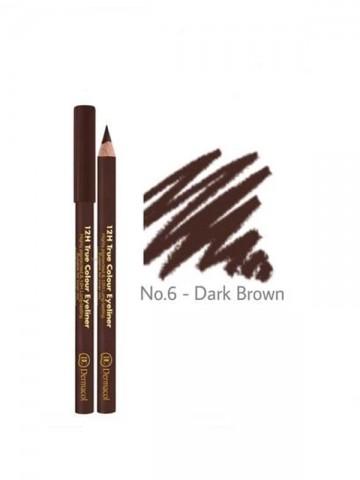 12H True Color Eyeliner -Dark Brown