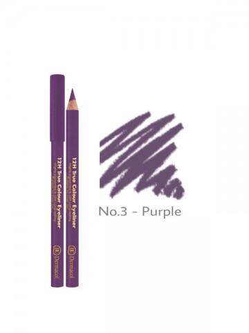 12H True Color Eyeliner -Purple