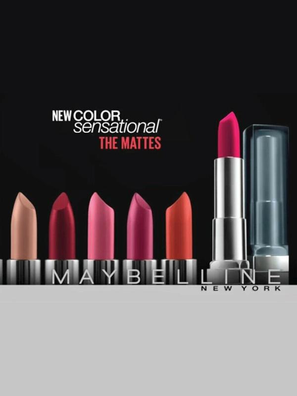 COLOR SENSATIONAL - The Matte Lipstick Collection
