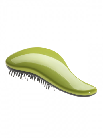 DROP Detangling Brush for Wet Hair - GREEN