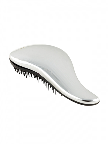 DROP Detangling Brush for Wet Hair - SILVER