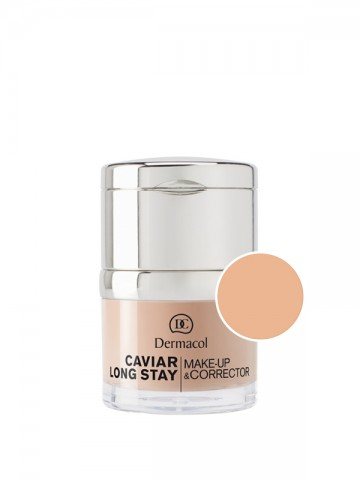 Caviar Long-Stay Foundation & Corrector 1- PALE