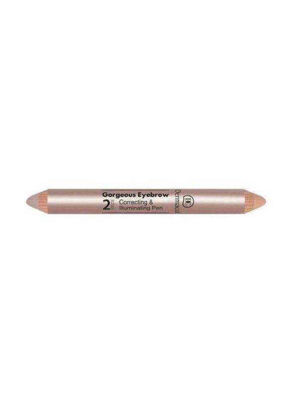 Gorgeous Eyebrow Correcting & Illuminating Pen