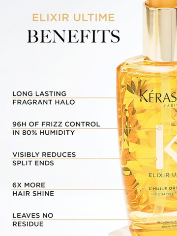K Elixir Ultime Oil Serum Benefits
