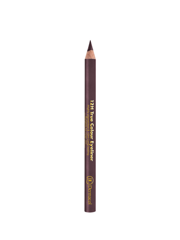 12H True Color Eyeliner - Dark Mauve